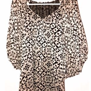 Willi Smith Butterfly Blouse